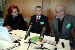 Doc. MUDr. Petr Čáp Ph.D. a prim. MUDr. Viktor Kašák spolu uvedli konferenci