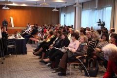 Účastníci přednášky Astma, léčba, monitorování, edukace