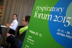 1. ročník konference Respiratory Forum 2015